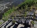 Vodočet na pravém břehu Chrudimky v Tuněchodech.