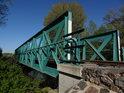 Železniční most přes Chrudimku na trase Chrudim – Moravany.