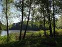 Romantické zátiší u údolní nádrže Křižanovice.