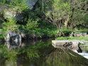 Řeka Chrudimka v úseku Trhová Kamenice - přehrada Seč